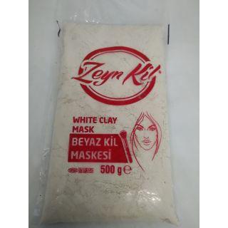 Beyaz Kil Maskesi 500 Gr